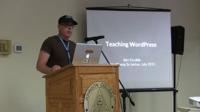 Ben Dunkle: Teaching WordPress