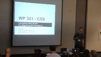 Jeremy Saxey: CSS for Beginning WP Developers