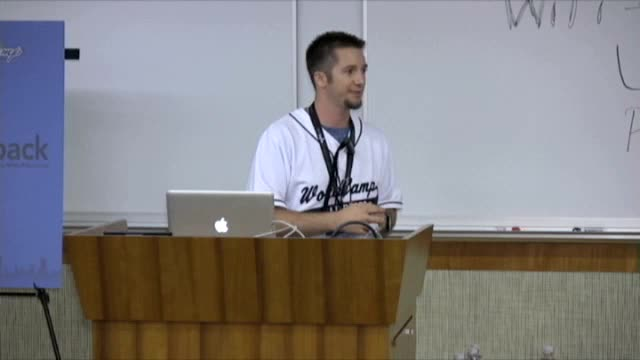 Aaron Campbell: Integration of WordPress With External APIs