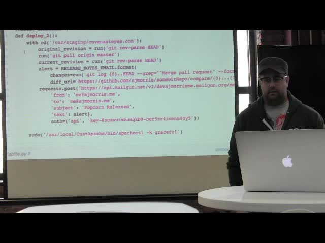 AJ Morris: Deploying your WordPress Site Automatically with Hubot