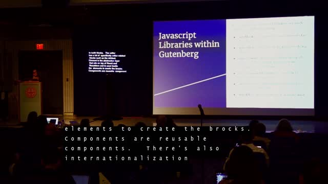 Amanda Giles: The Basics of building a Gutenberg Block