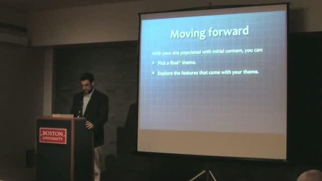 Jon Moss: Making WordPress Child's Play: Using WP To Create Class Websites for PreK-12 Classrooms