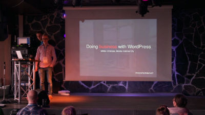 Mikko Virenius: Doing Business with WordPress