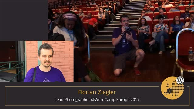 Photography Team at WordCamp Europe 2017