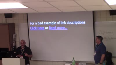 Joseph LoPreste: Web Accessibility Made Easy for WordPress