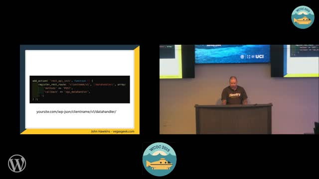 John Hawkins : An introduction to the WP REST API
