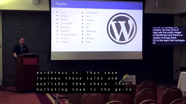 William Earnhardt: Intro to WordPress Contribution