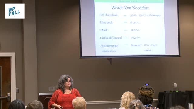 Kathryn Lang: Repurpose Your Words