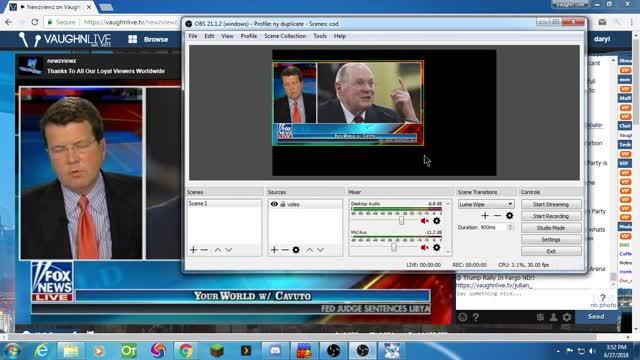 How to do a screen region capture in OBS Studio  | VaughnSoft