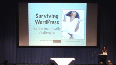 Kimberly Gauthier: Keynote: A Guide To Surviving WordPress For The Technically Challenged