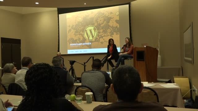Amber Hinds and Tracy Malone: Growth / Marketing Town Hall