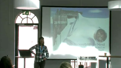 Christina Wallnér: Web Accessibility In Mind