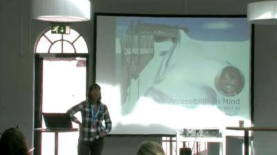 Christina Wallnér: Web Accessibility In Mind