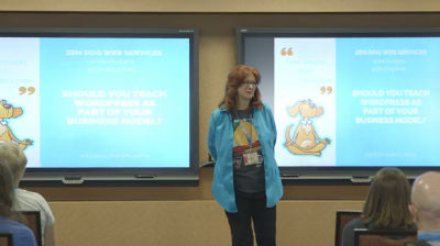 Val Hudgins: Should You Teach WordPress as Part of Your Business Model?