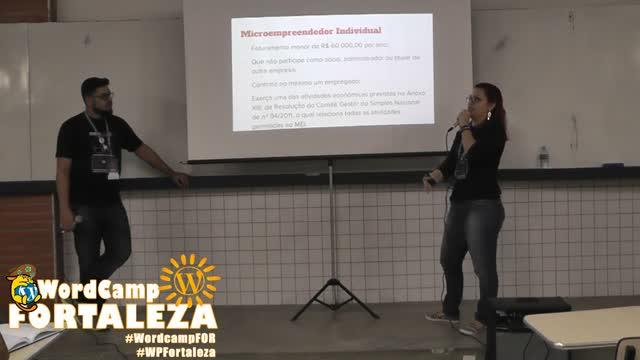 Paulo Henrique Holanda do Amaral e Thalita Monteiro:  Curtindo os freelas adoidado