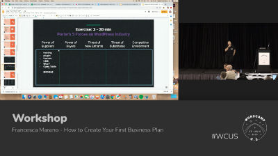 Francesca Marano: How to Create Your First Business Plan - Part 2