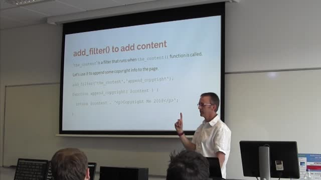 Damien Carbery: Demystifying Hooks, Actions and Filters
