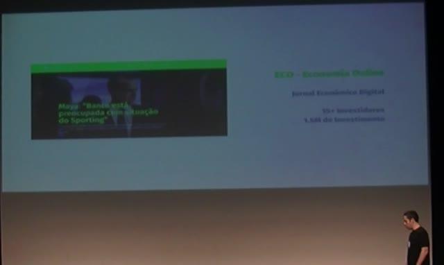 Nuno Morgadinho: Caso de Estudo nos Media em Portugal: ECO.pt (Economia On-line)