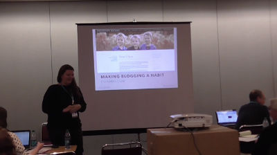 Pam Kocke: Making Blogging a Habit