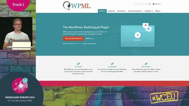 Pascal Birchler: On multilingual WordPress sites