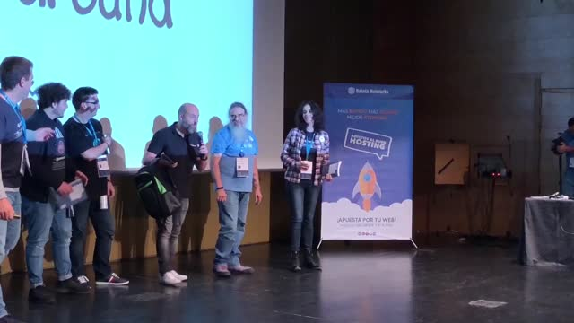 David Pérez: Despedida y Cierre WordCamp Granada