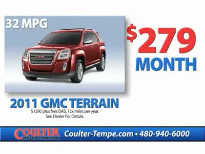 Loyaltyprogram coulter motor company for Coulter motor company tempe