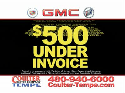 Cadillac coulter motor company for Coulter motor company tempe