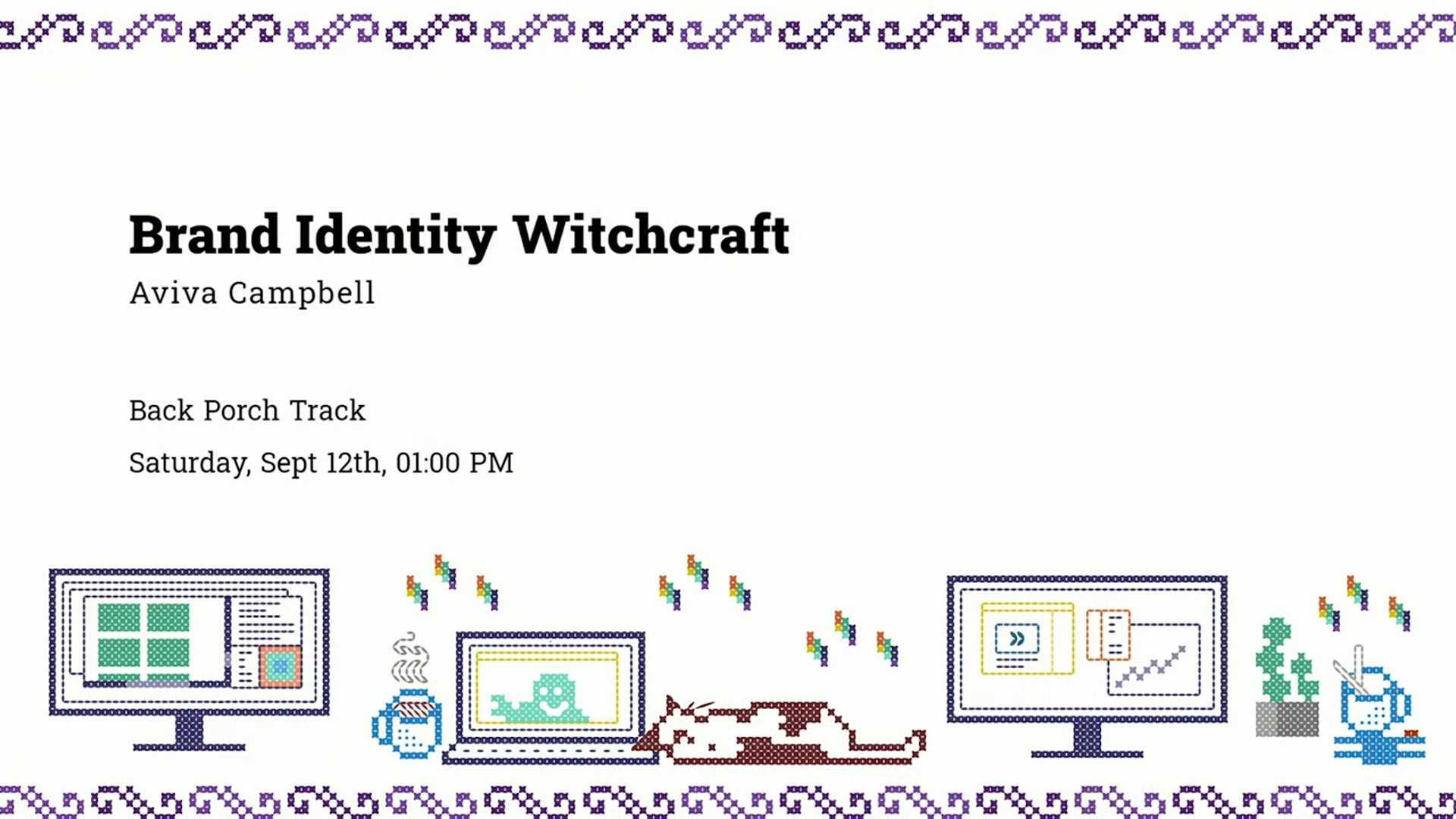 Aviva Campbell: Brand Identity Witchcraft