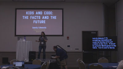 Sandy Edwards: Kids and Code