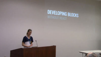 Ashley Eberly: Developing Blocks Without React