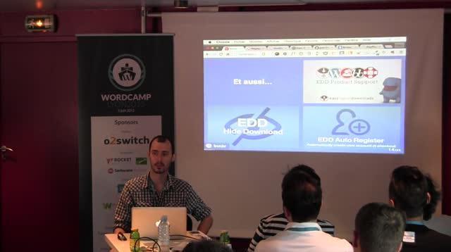 Alexandre Bortolotti : Vendre des produits numériques avec Easy Digital Downloads