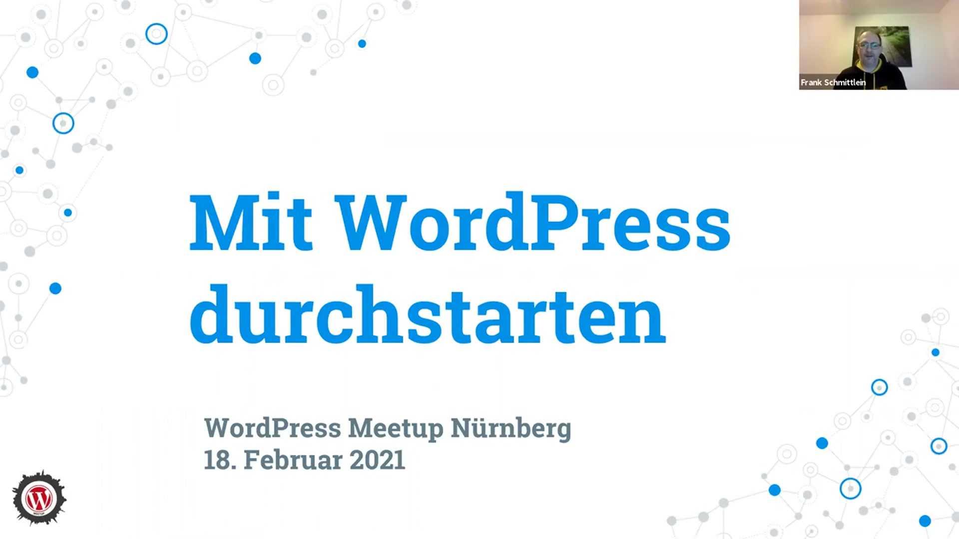 Frank Schmittlein: Mit WordPress durchstarten