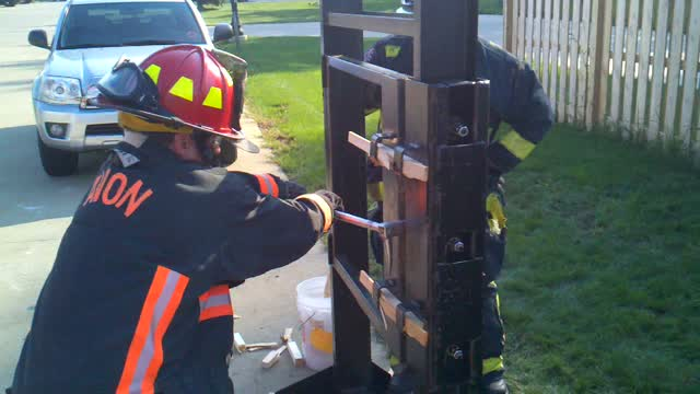 Avon Oh Fire Department Forcible Entry Training