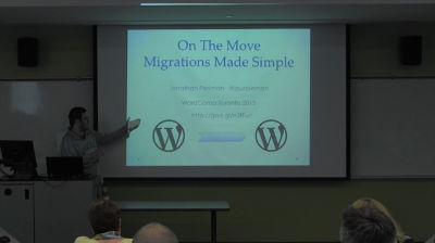 Jonathan Perlman: On the Move, Migrations Made Simple