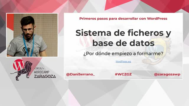 Dani Serrano: Primeros pasos para desarrollar en WordPress