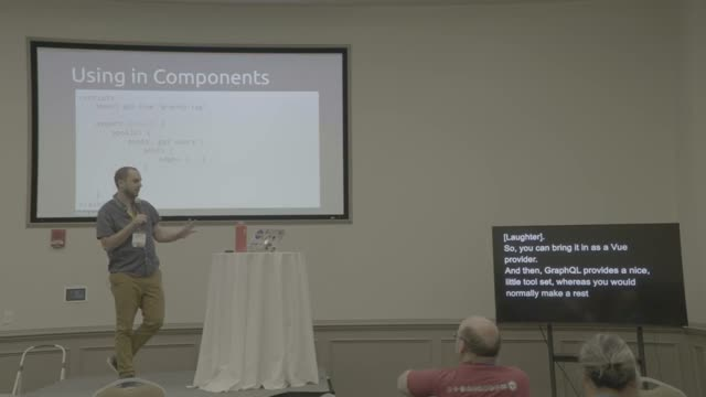 Wesley Eldridge: GraphQL and Vue for WordPress