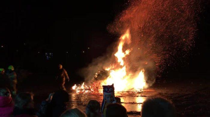 Kerstboomverbranding Middenmeer