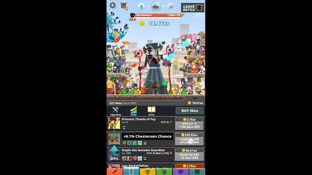 Tap Titans 2 – Best Skill Tree for Farm Relics – GameScale