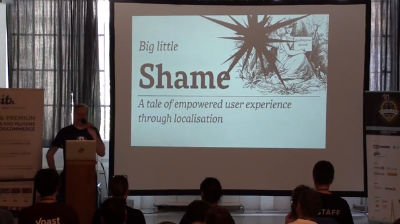Caspar Hübinger: Big little shame – A story of empowered user experience through localization
