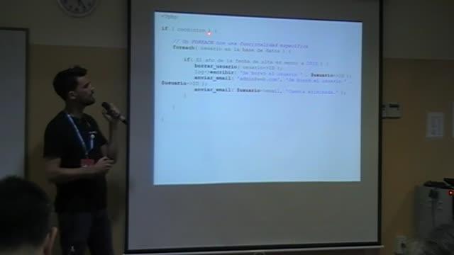 Mauricio Gelves: Código bonito con PHP, poesía para tus ojos
