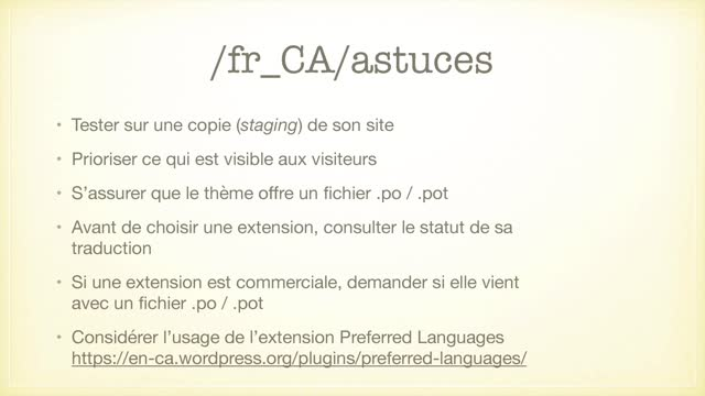 Jean-Francois Arseneault: Du coup, vous parlez Canadien-français ?