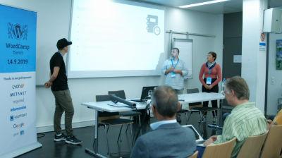 Corinne Ulrich, Haeme Ulrich, Joshy Merki: Page und Theme Builder Elementor