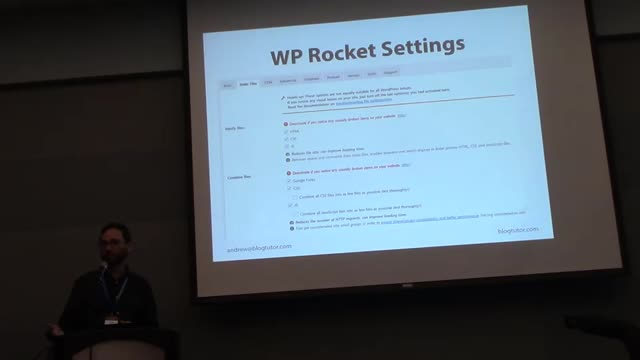 Andrew Wilder: Slow sites suck! How to speed up WordPress without touching a line of code.