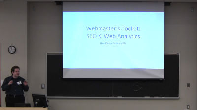 Andy McIlwain: SEO & Web Analytics