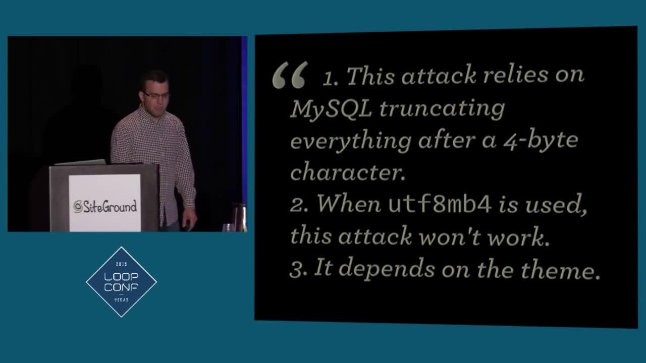Andrew Nacin: Anatomy of a Critical Security Bug | WordPress.tv