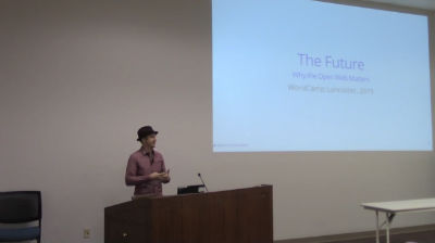 Aaron D. Campbell: The Future: Why the Open Web Matters