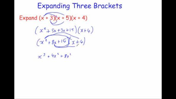 expanding double brackets worksheet pdf