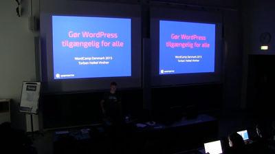 Torben Heikel Vinther: Gør WordPress tilgængelig for alle