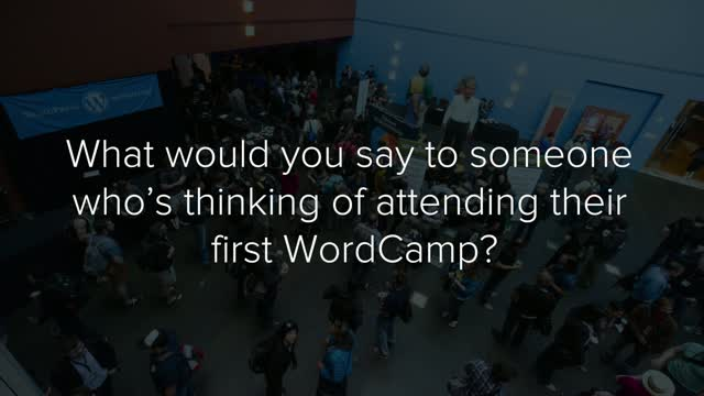 WordCamp Testimonials