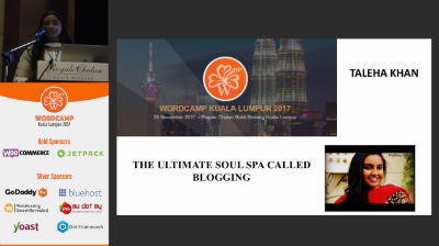 Taleha Khan: The Ultimate Soul Spa Called Blogging